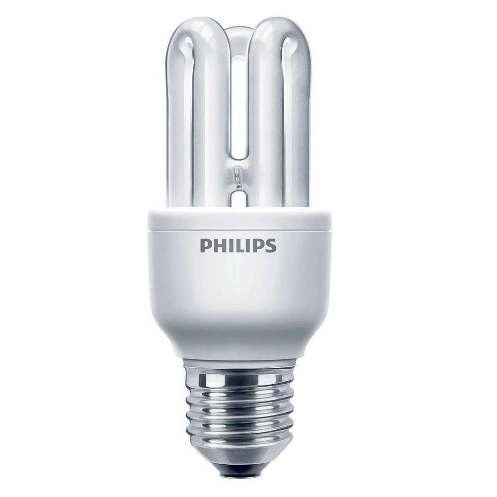 Philips Genie ESaver 8W 827 E27   Bardzo Ciepła Biel
