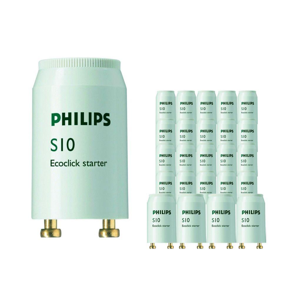 Opakowanie 25x Philips S10 Starter 4-65W SIN