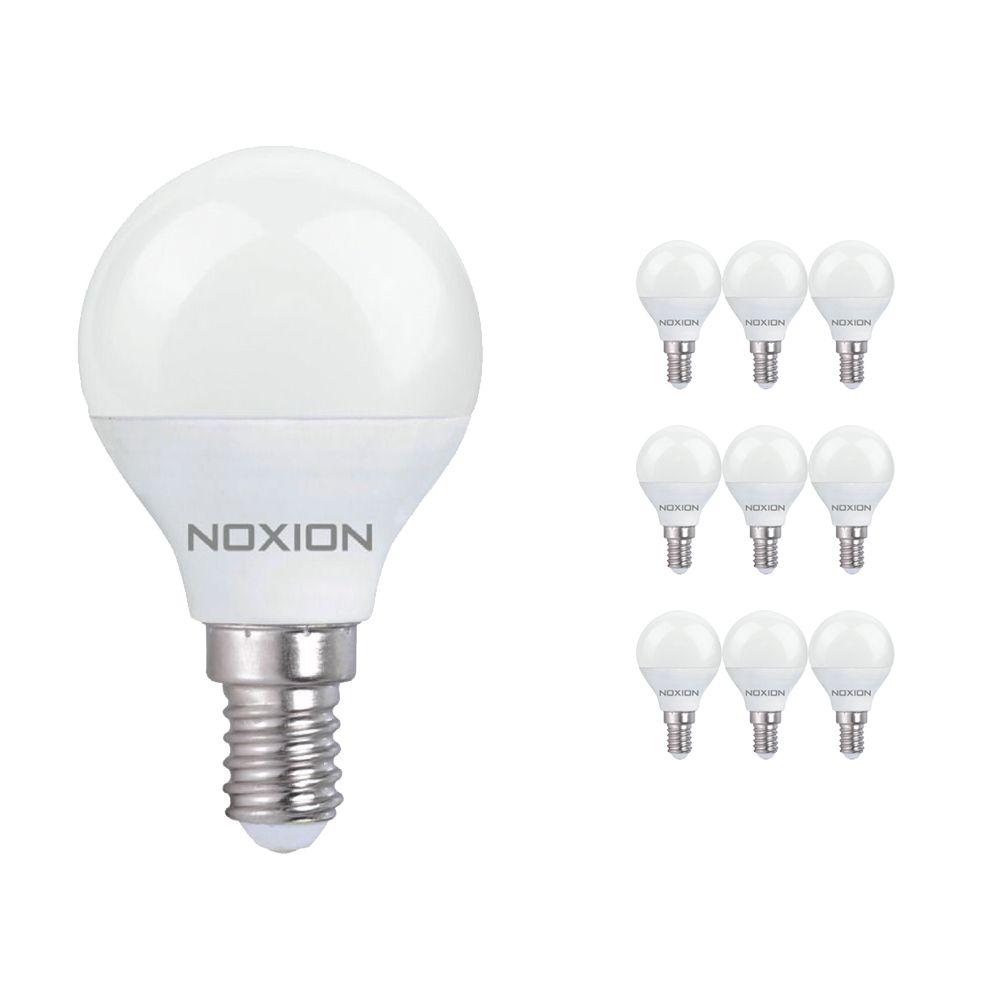 Opakowanie 10x Noxion Lucent LED Classic Lustre 5W 827 P45 E14   Bardzo Ciepła Biel - Zamienne 40W