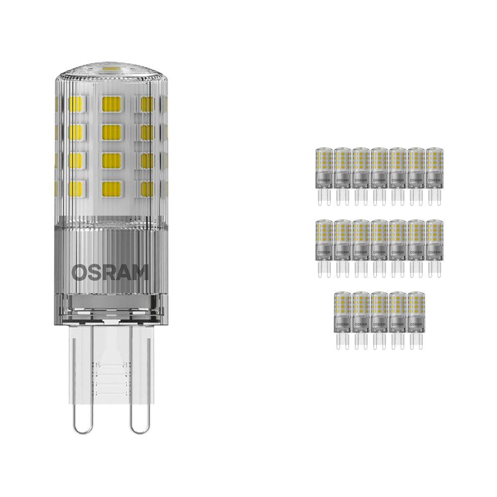 Opakowanie 20x Osram Parathom LED PIN G9 4.2W 827   Ściemnianie - Bardzo Ciepła Biel - Zamienne 40W