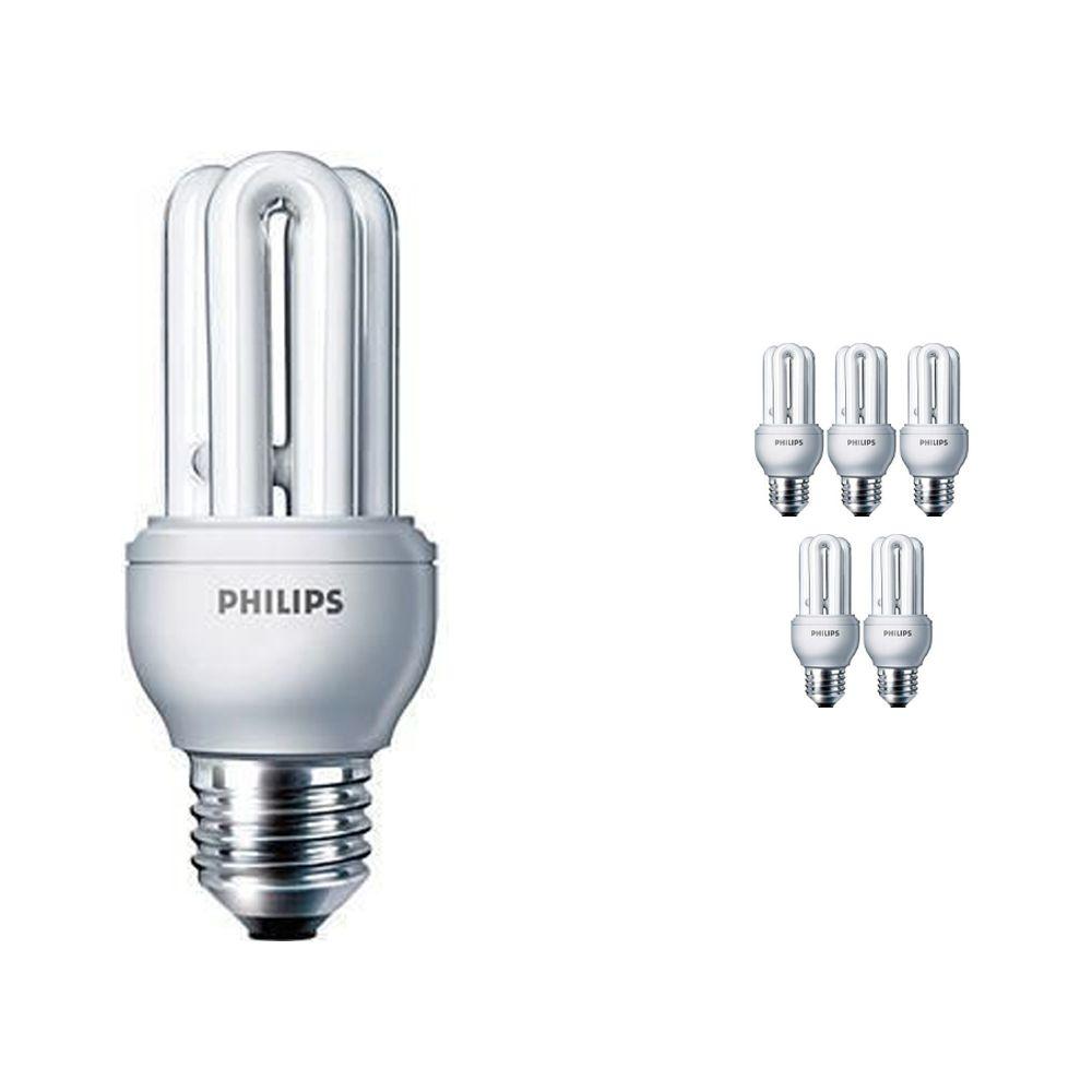 Opakowanie 6x Philips Genie ESaver 11W 865 E27   Światło dzienne