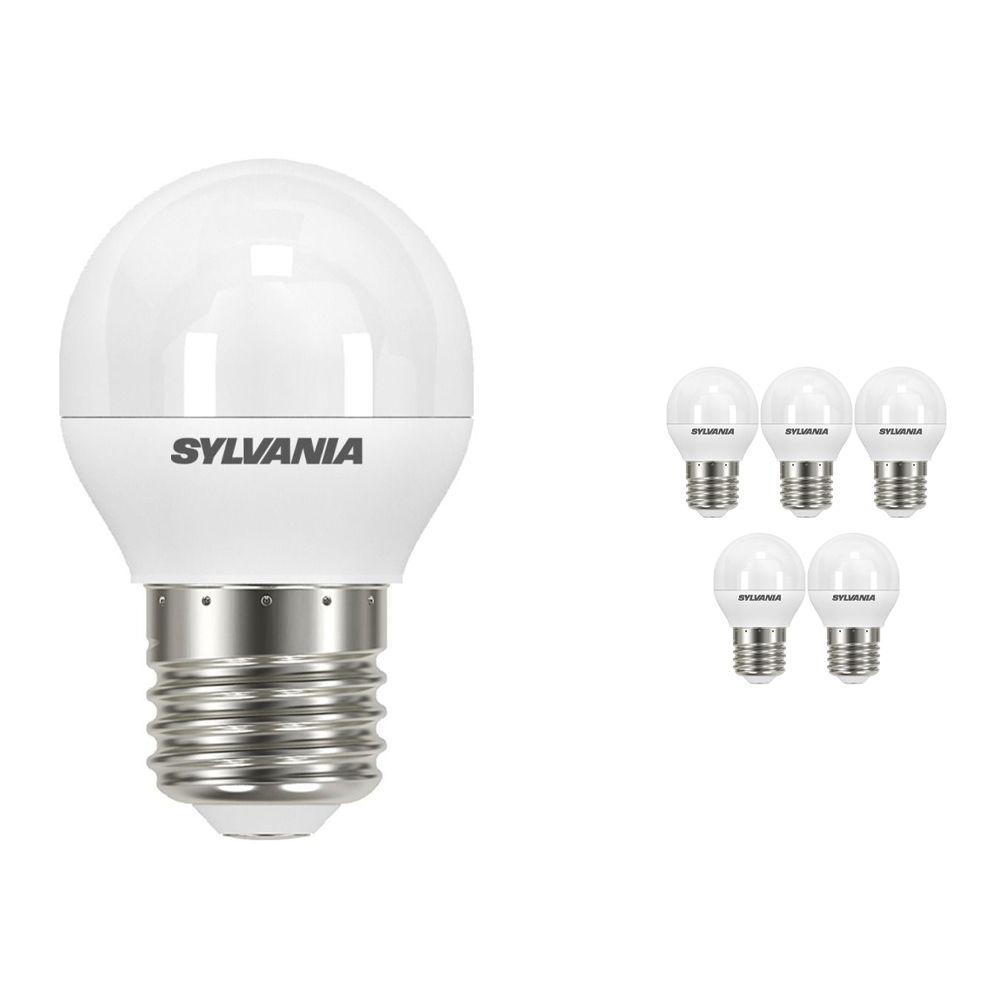Opakowanie 6x Sylvania ToLEDo Ball E27 P45 Matowy 5.5W   Zamienne 40W