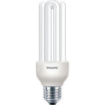 Philips Genie ESaver 23W 827 E27   Bardzo Ciepła Biel