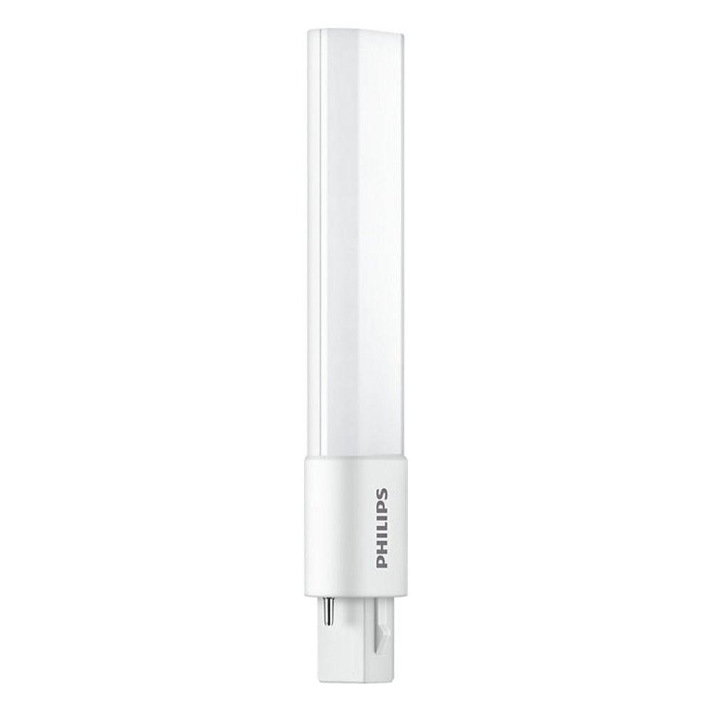 Philips CorePro PL-S LED 5W 830 | Ciepła Biel - 2-Piny - Zamienne 9W