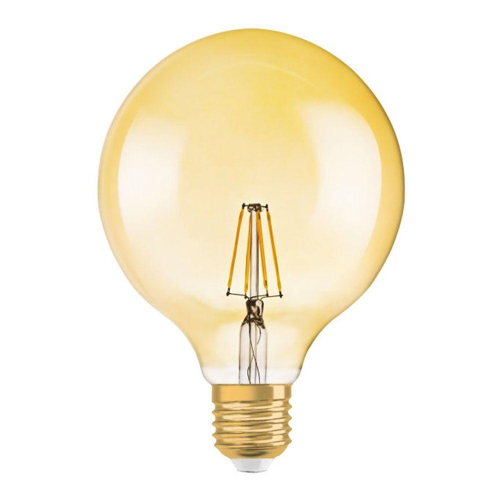 Osram Vintage 1906 LED E27 Globe 4W 824 Złoty | Zamienne 35W