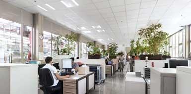 Oświetlenie biurowe