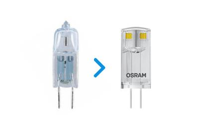 Żarówki LED kapsułkowe